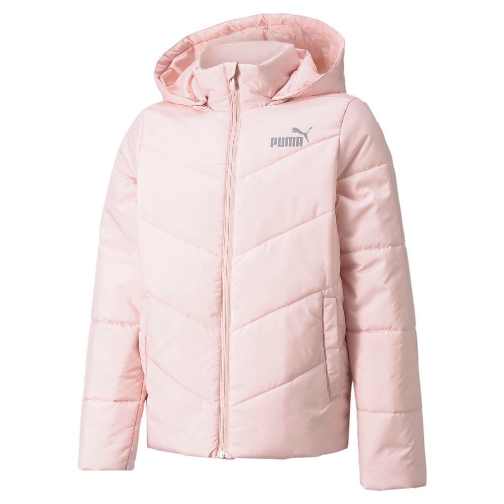 Зображення Puma Дитяча куртка Essentials Padded HD Youth Jacket #1: Lotus