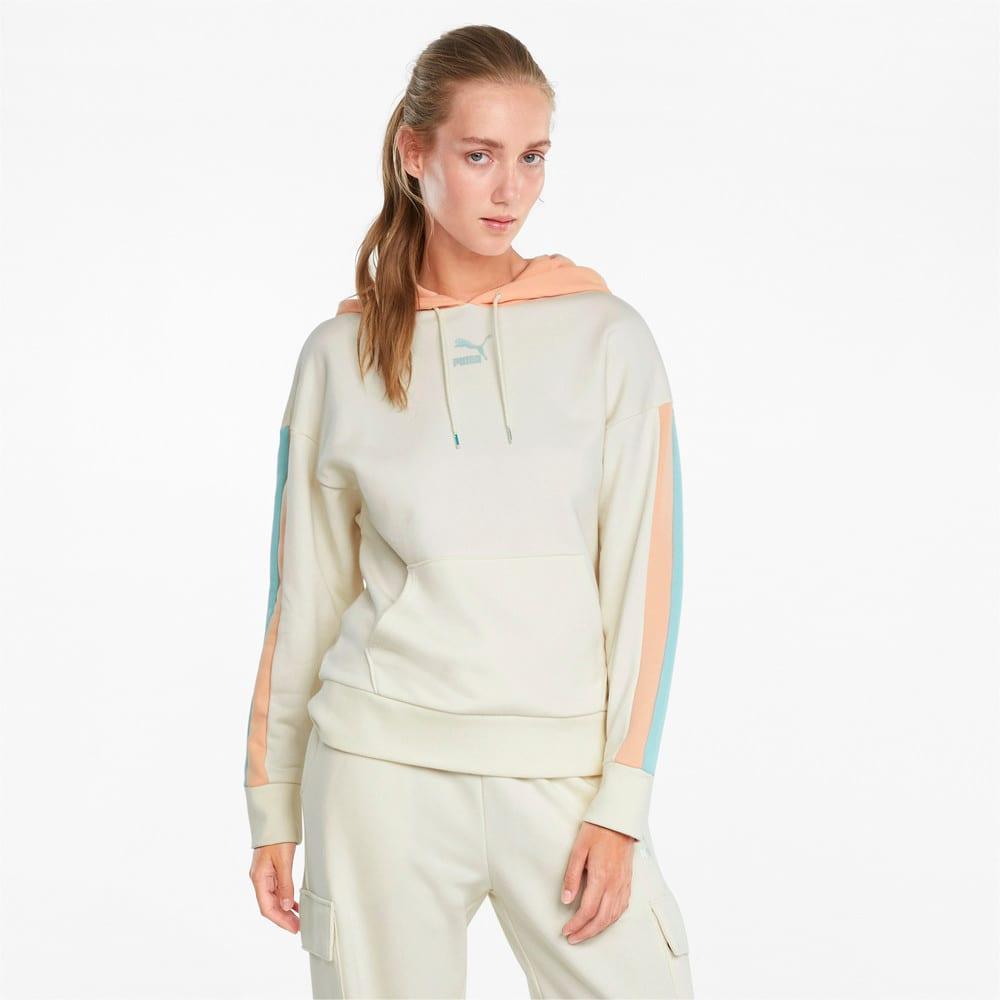 Зображення Puma Толстовка CLSX Women's Hoodie #1: Ivory Glow-Gloaming