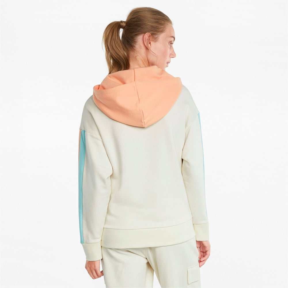 Зображення Puma Толстовка CLSX Women's Hoodie #2: Ivory Glow-Gloaming