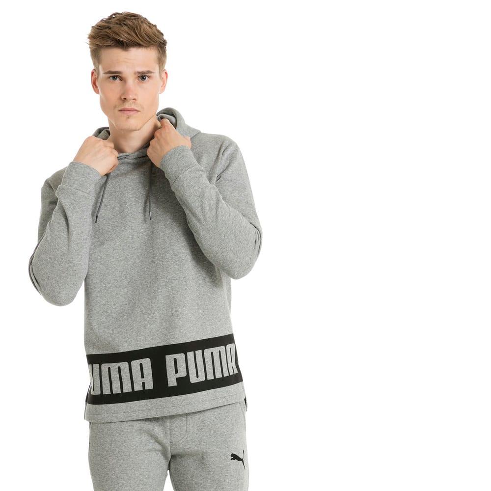 Görüntü Puma REBEL Kapüşonlu Erkek Sweatshirt #2