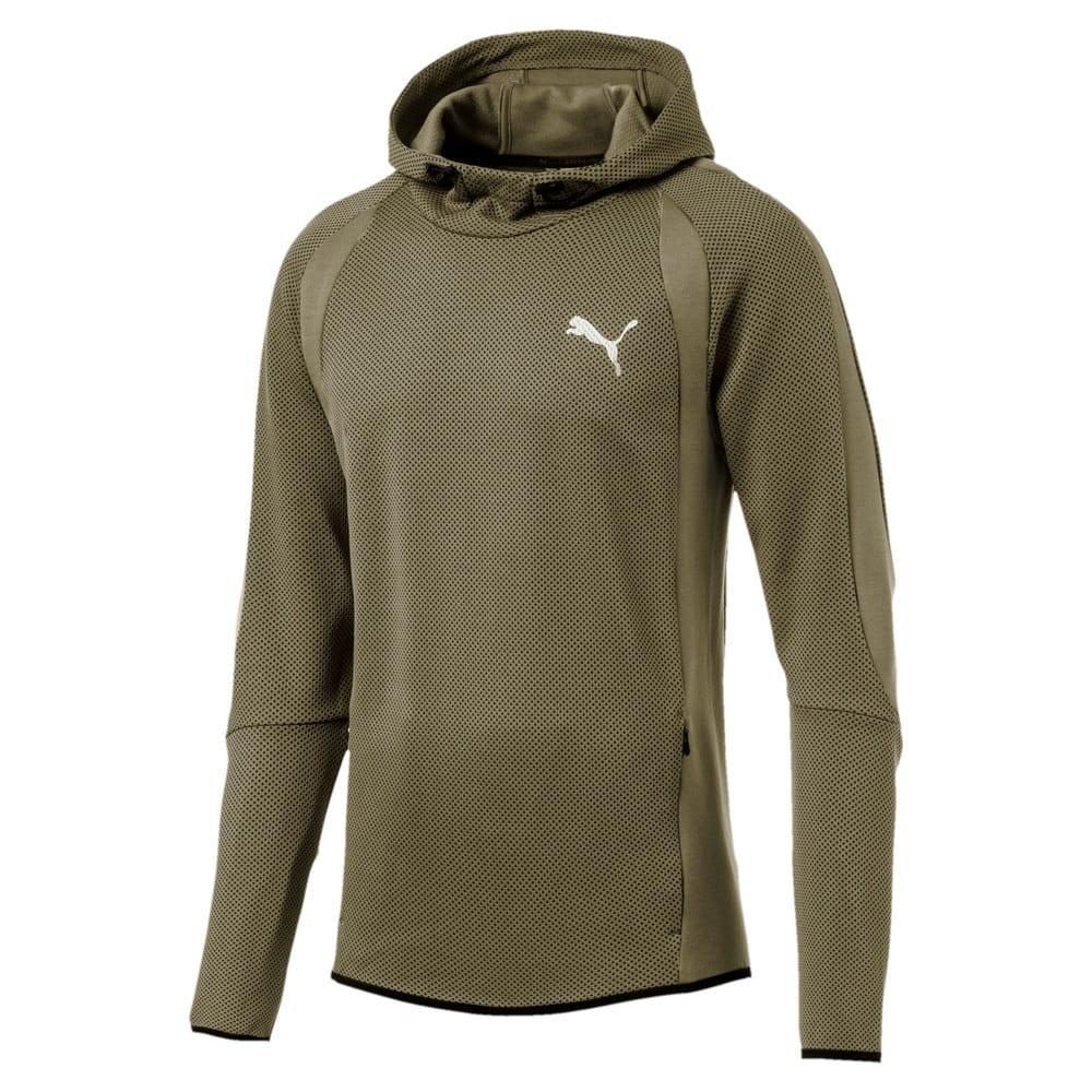 Görüntü Puma evoSTRIPE ULTIMATE Kapüşonlu Erkek Sweatshirt #1