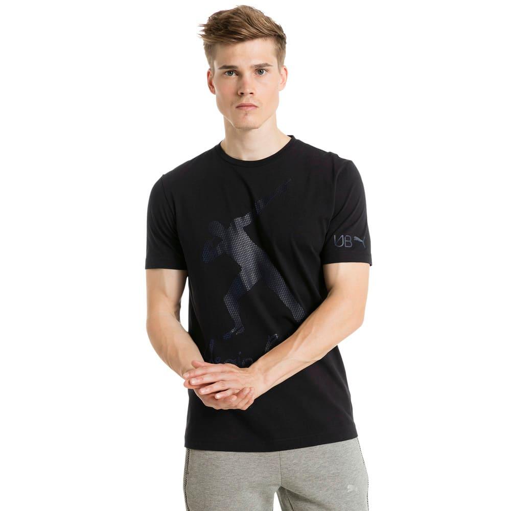 Görüntü Puma Usain Bolt Baskılı Erkek T-shirt #2