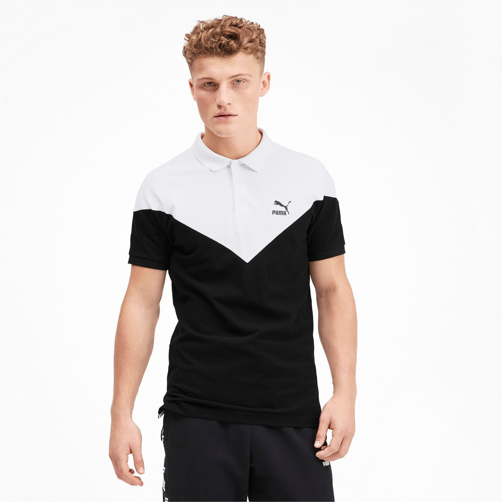 Зображення Puma Поло Iconic MCS Pique Men's Polo Shirt #1