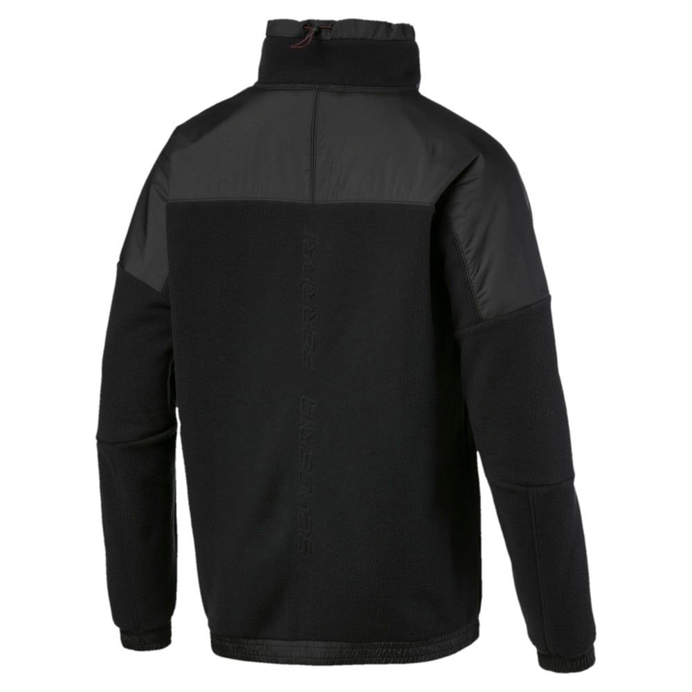 Изображение Puma Куртка Ferrari RCT Tech Fleece #2: Puma Black