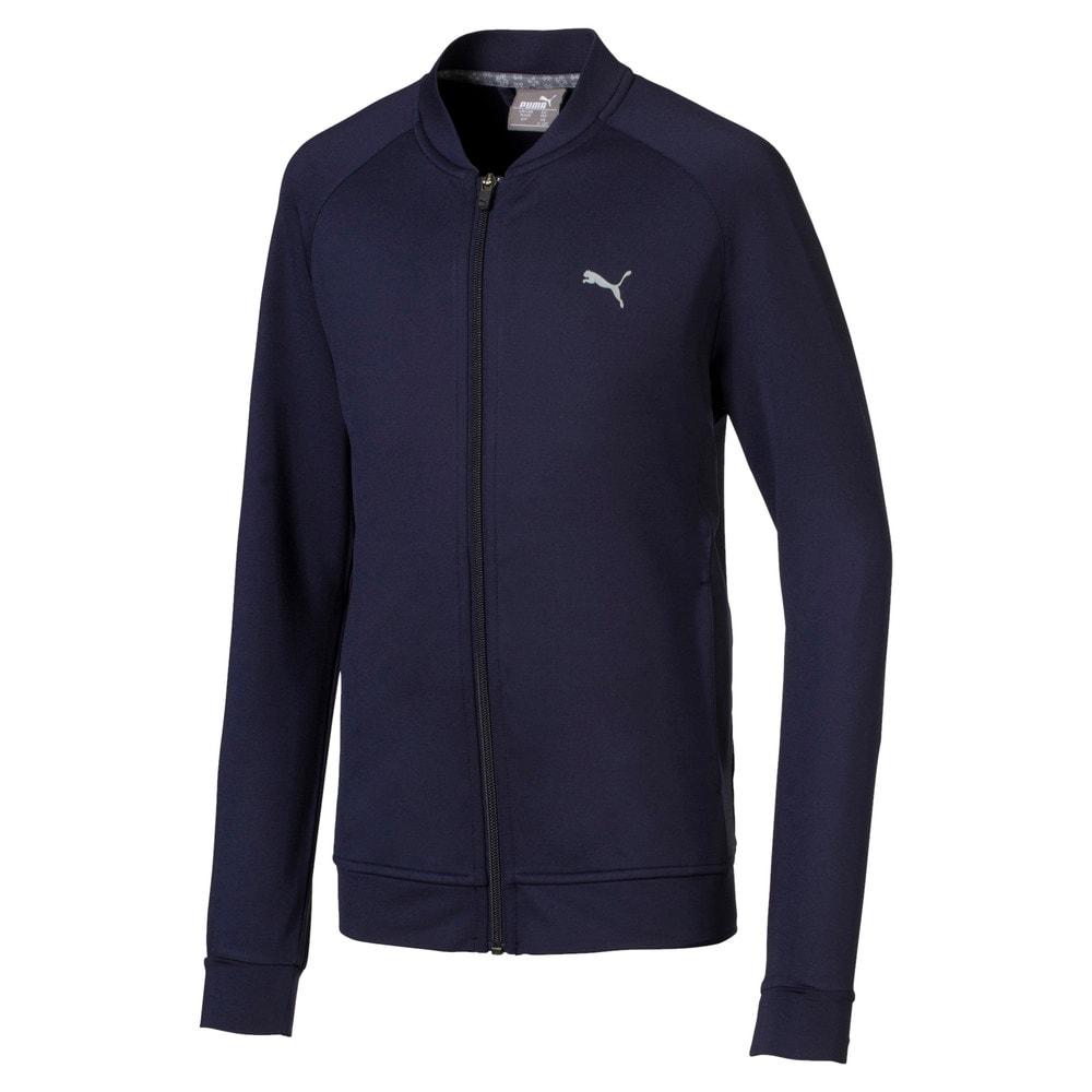 Зображення Puma Куртка Full Zip Boys' Golf Jacket #1: Peacoat