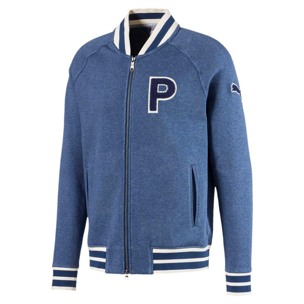 Image Puma Varsity Fleece Men's Golf Jacket #1