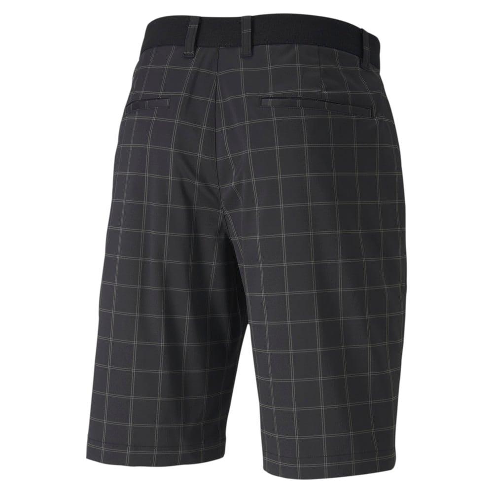 Image Puma Plaid Men's Golf Shorts #2