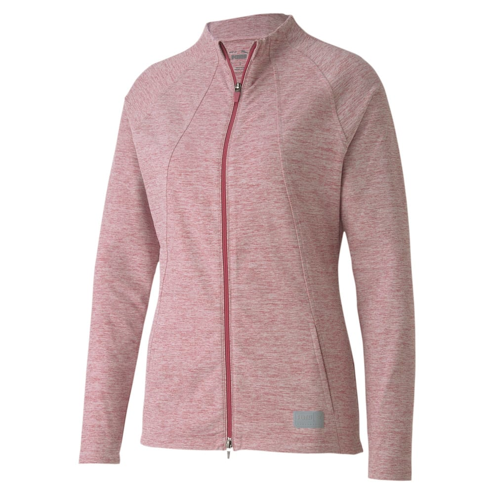 Image Puma Cloudspun Warm Up Women's Golf Jacket #1