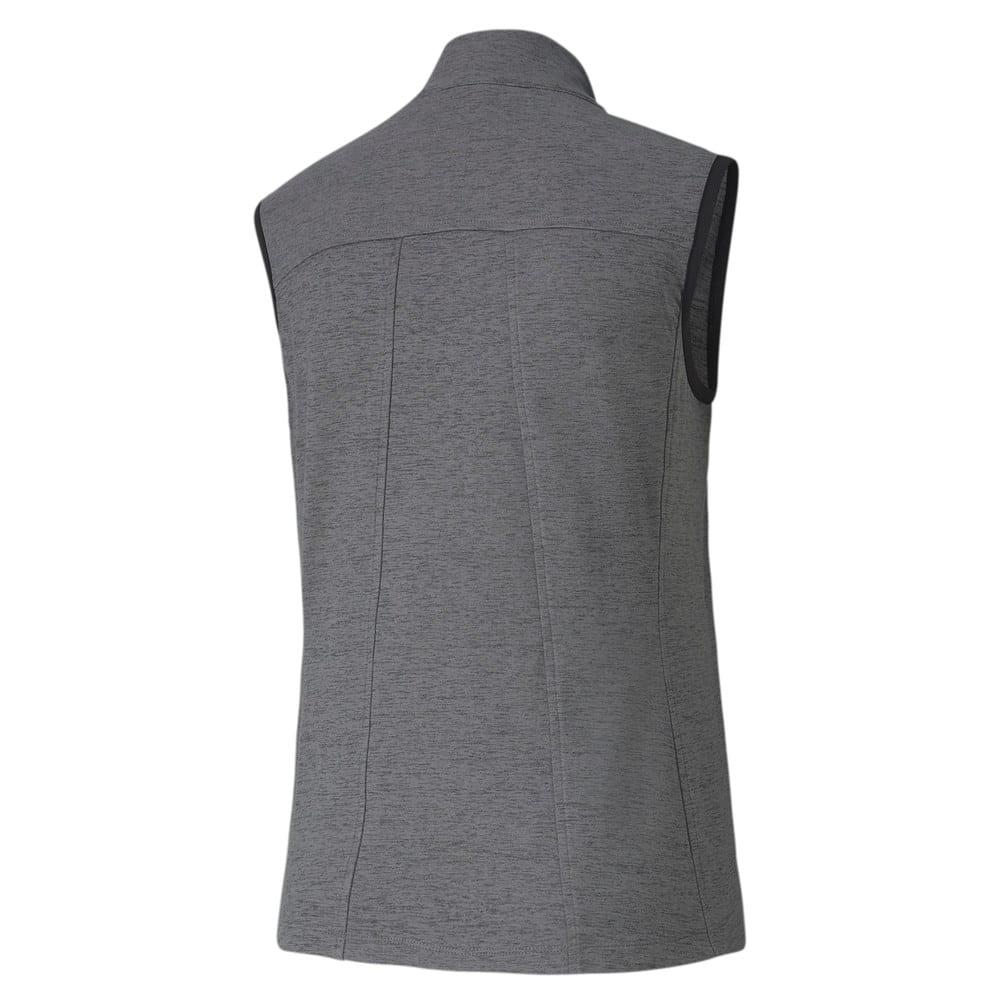 Image Puma Cloudspun Warm Up Women's Golf Vest #2