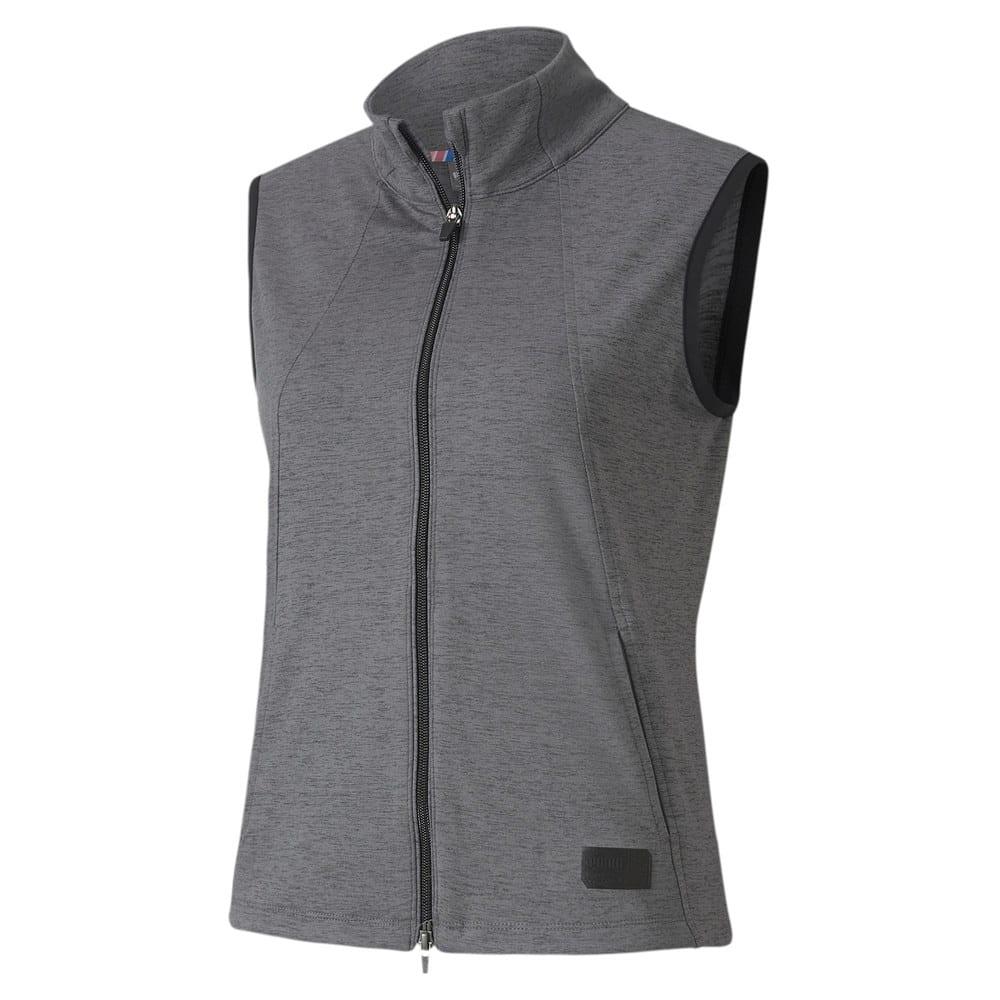 Image Puma Cloudspun Warm Up Women's Golf Vest #1