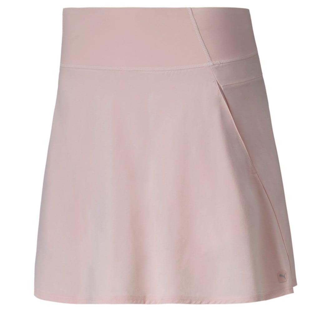 Image Puma PWRSHAPE Solid Woven Women's Golf Skirt #1