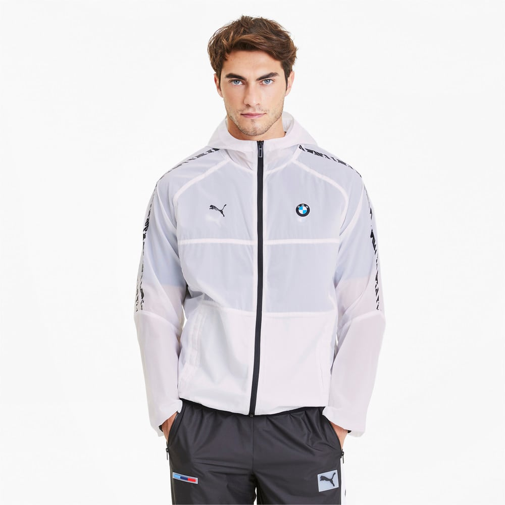 Image Puma BMW M Motorsport T7 City Hooded Men's Jacket #1
