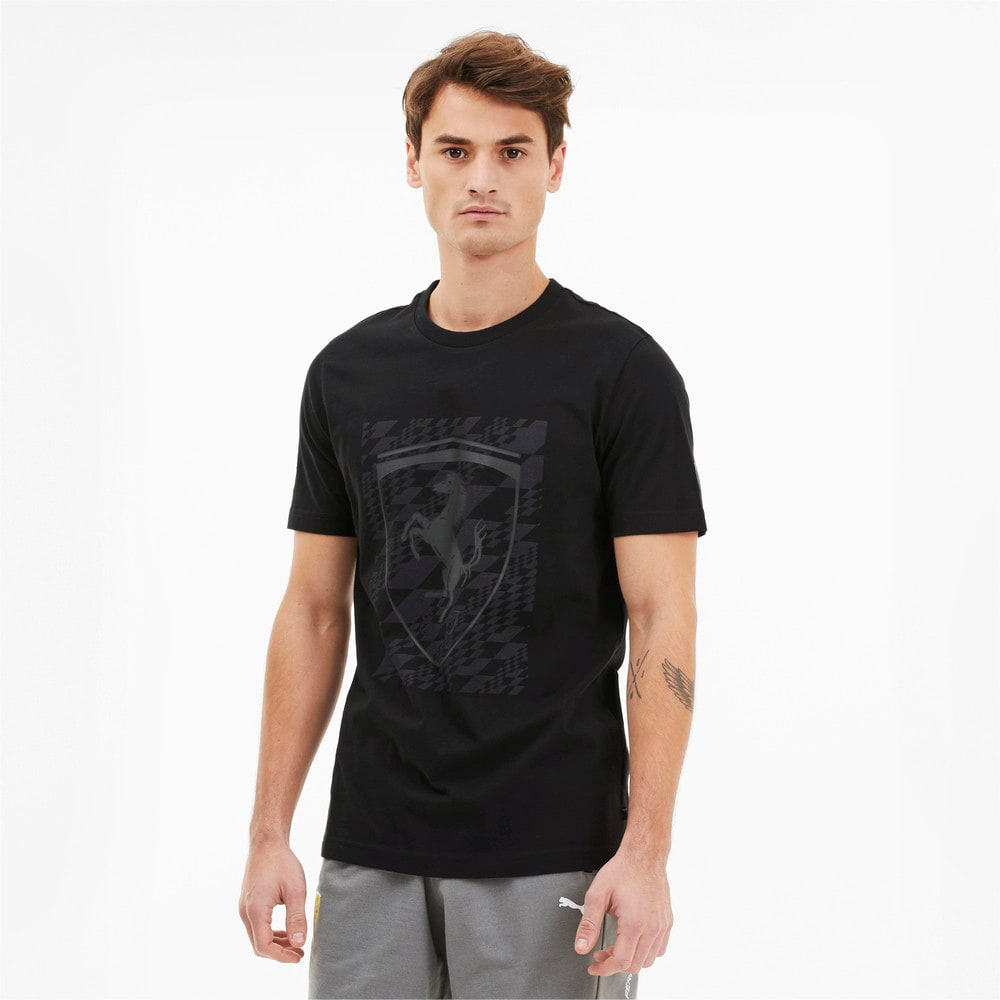 Image Puma Scuderia Ferrari Big Shield Men's Tee #1