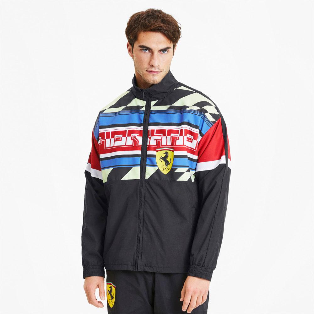Image Puma Scuderia Ferrari Woven Men's Motorsport Jacket #1