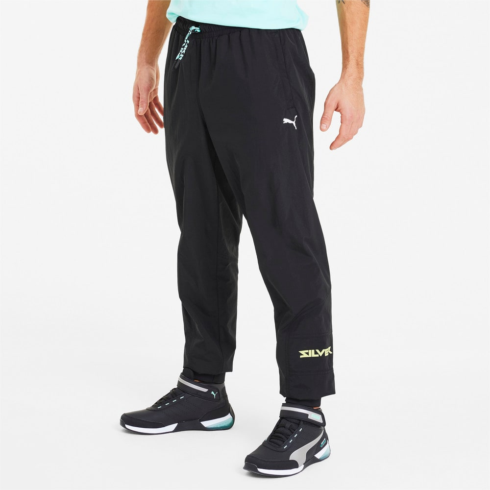 Image Puma Mercedes Men's Woven Street Pants #1