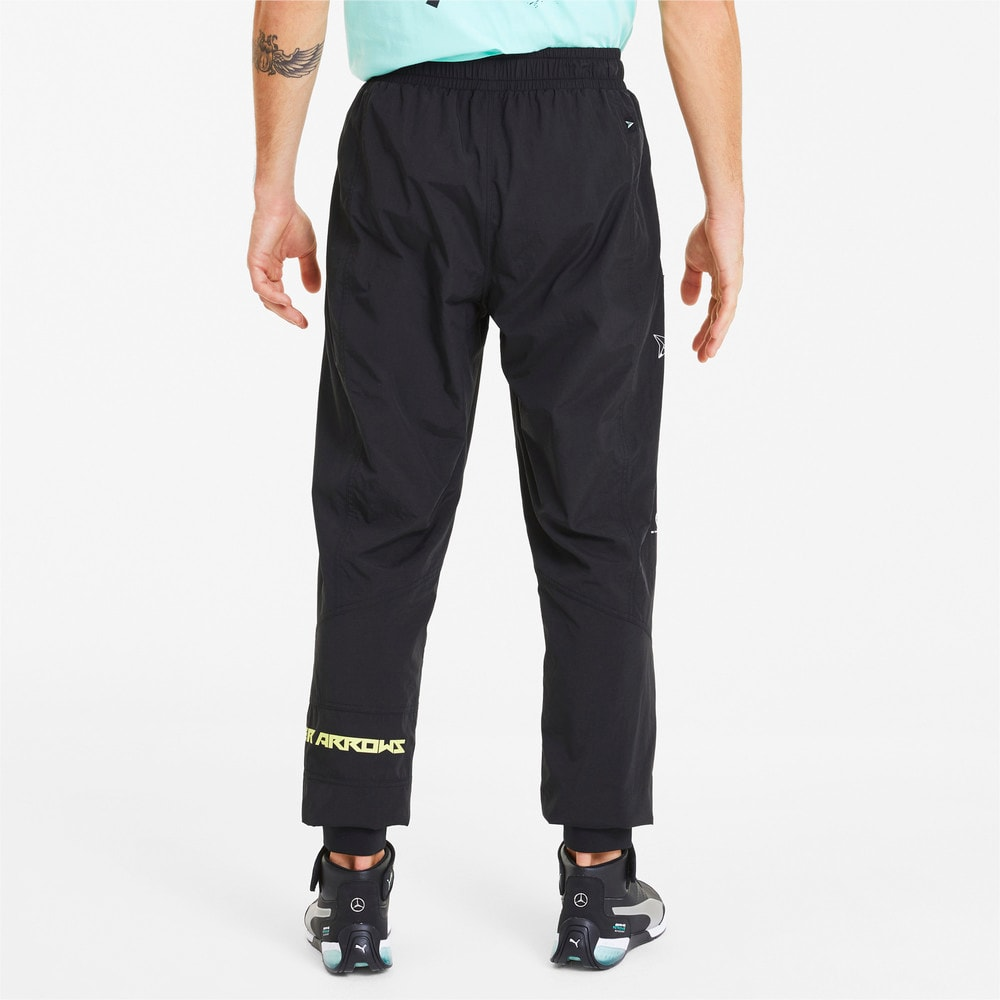 Image Puma Mercedes Men's Woven Street Pants #2