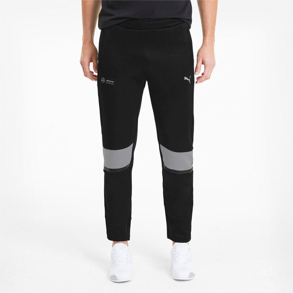 Image Puma Mercedes T7 Knitted Men's Sweatpants #1