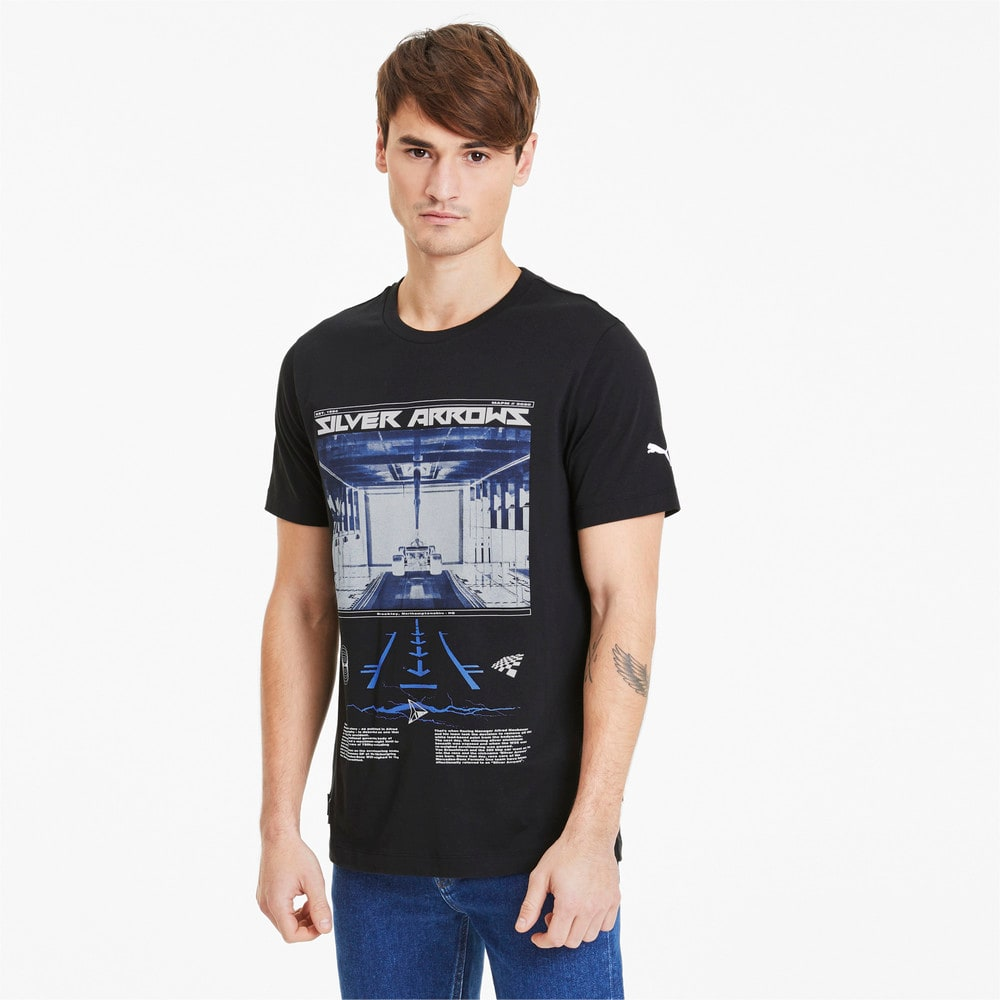 Image Puma Mercedes Silver Arrows Graphic Men's Tee #1