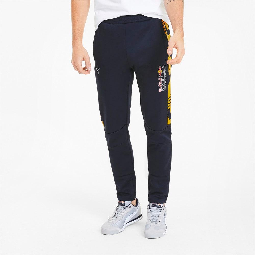 Image Puma Red Bull Racing Knitted Men's Motorsport Track Pants #1