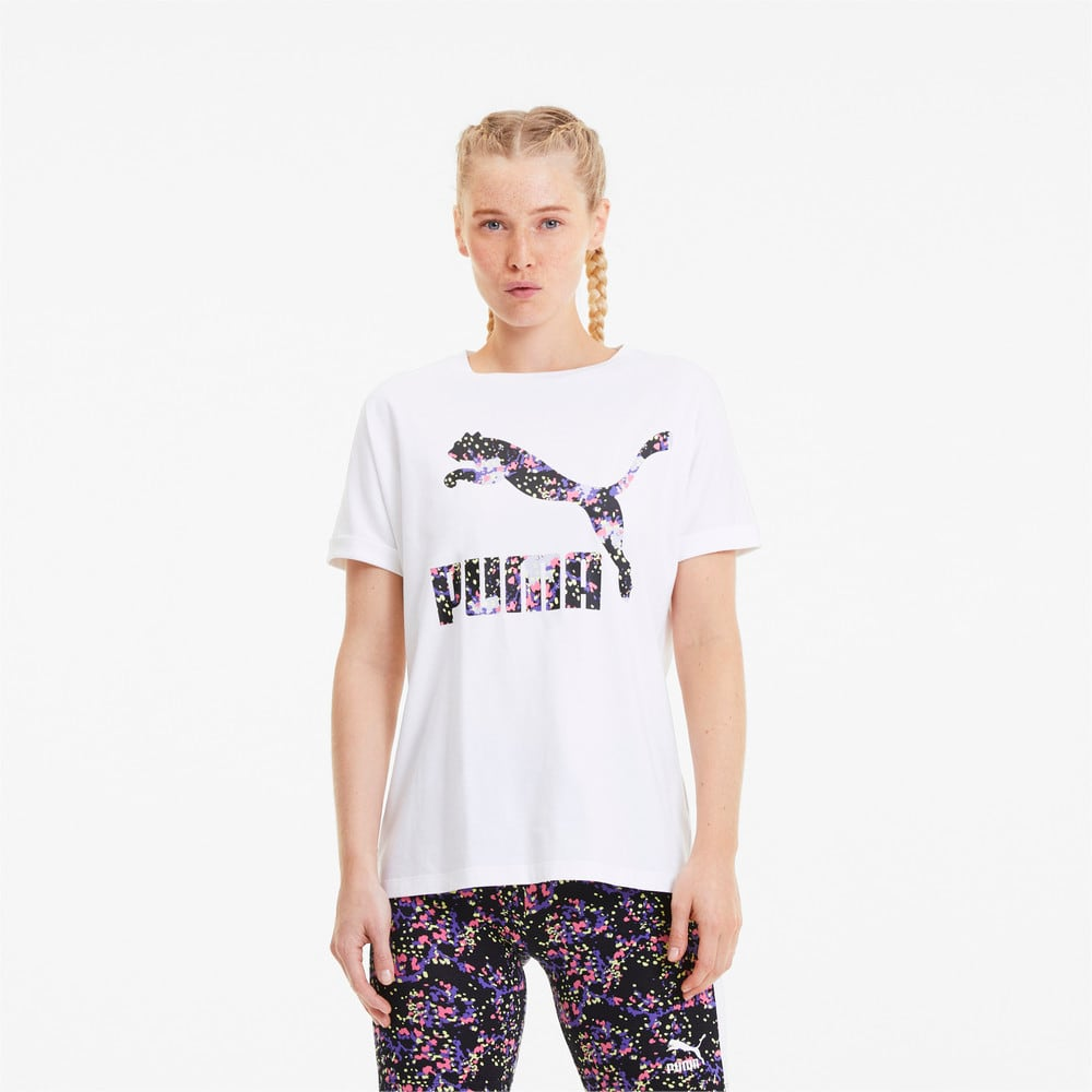 Image PUMA Camiseta AOP Roll Up Feminina #1