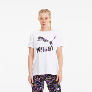 Изображение Puma Футболка Printed Roll Up Women's Tee
