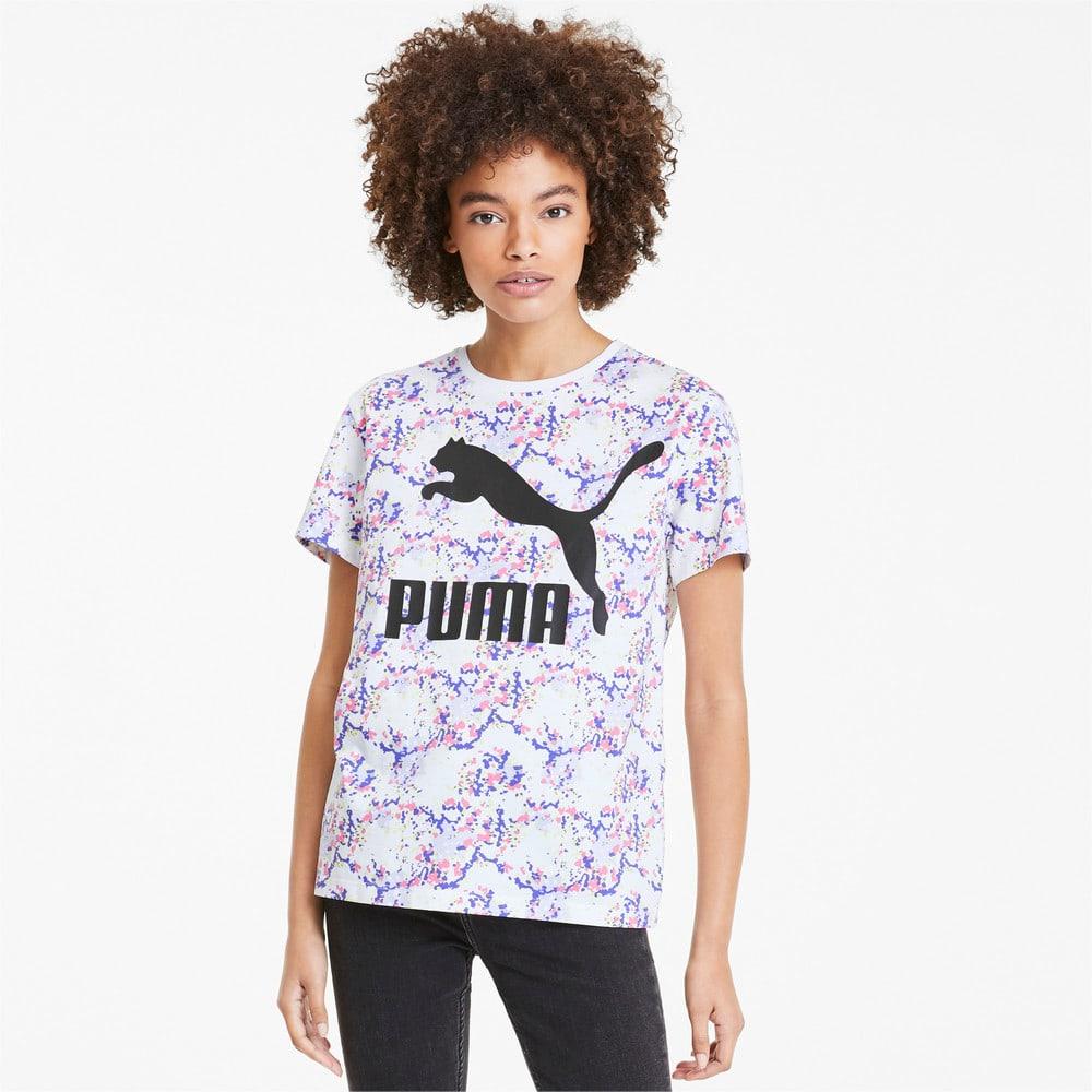 Image PUMA Camiseta PUMA AOP Feminina #1