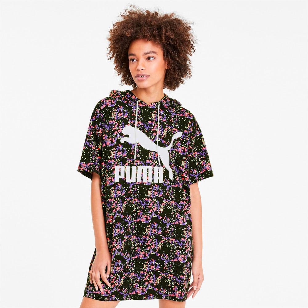 Image PUMA Vestido com Capuz AOP Summer Feminino #1