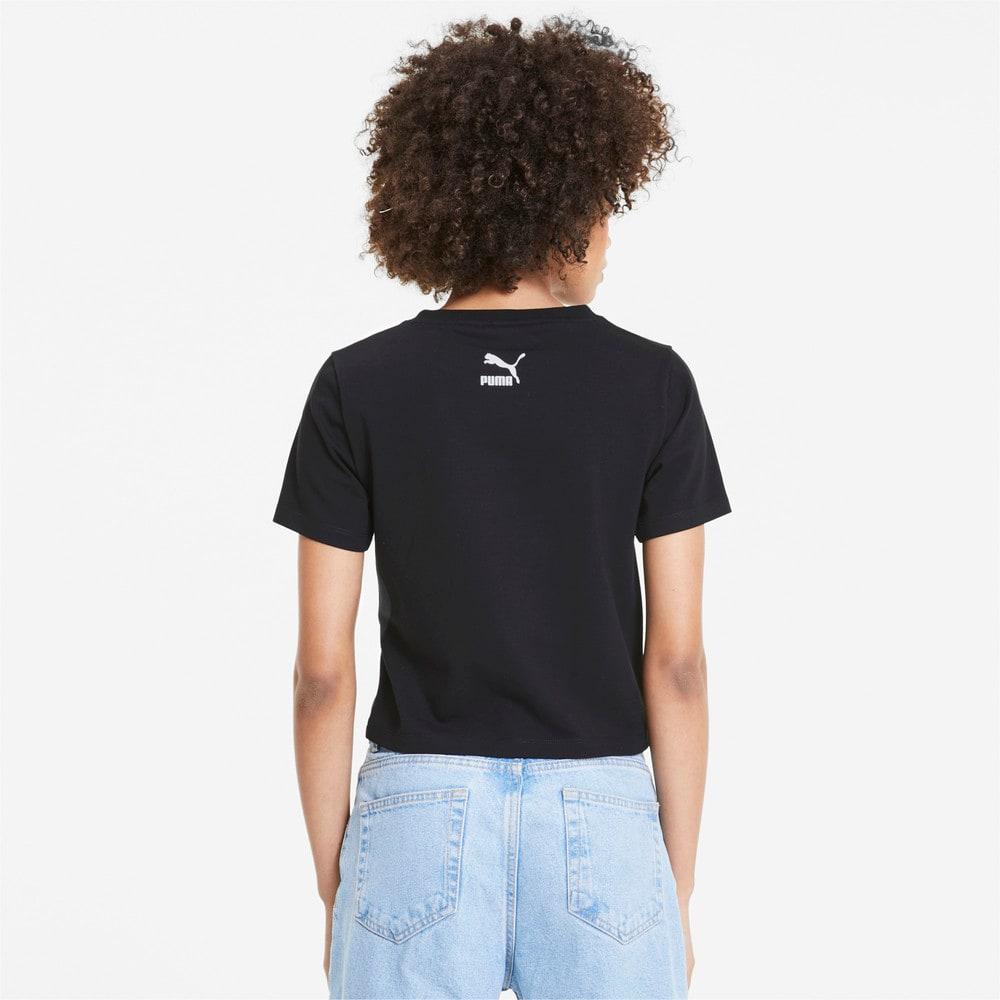 Image PUMA Camiseta Cropped TFS Graphic Feminina #2