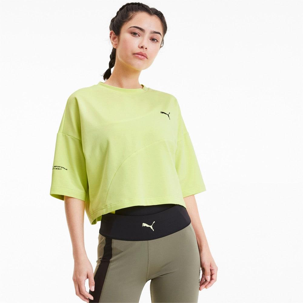 Görüntü Puma EVIDE FORMSTRIP Kısa Kesim Kadın T-Shirt #1