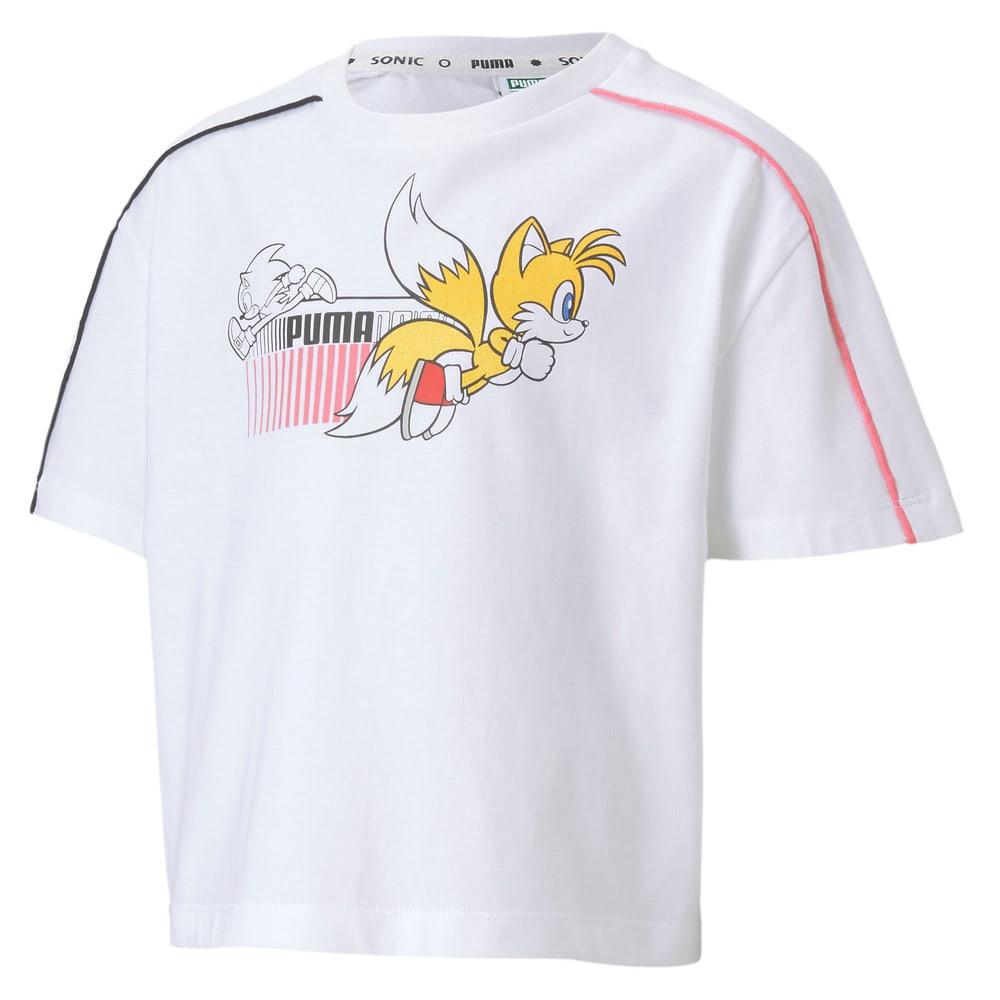Зображення Puma Дитяча футболка PUMA X SEGA Tee #1