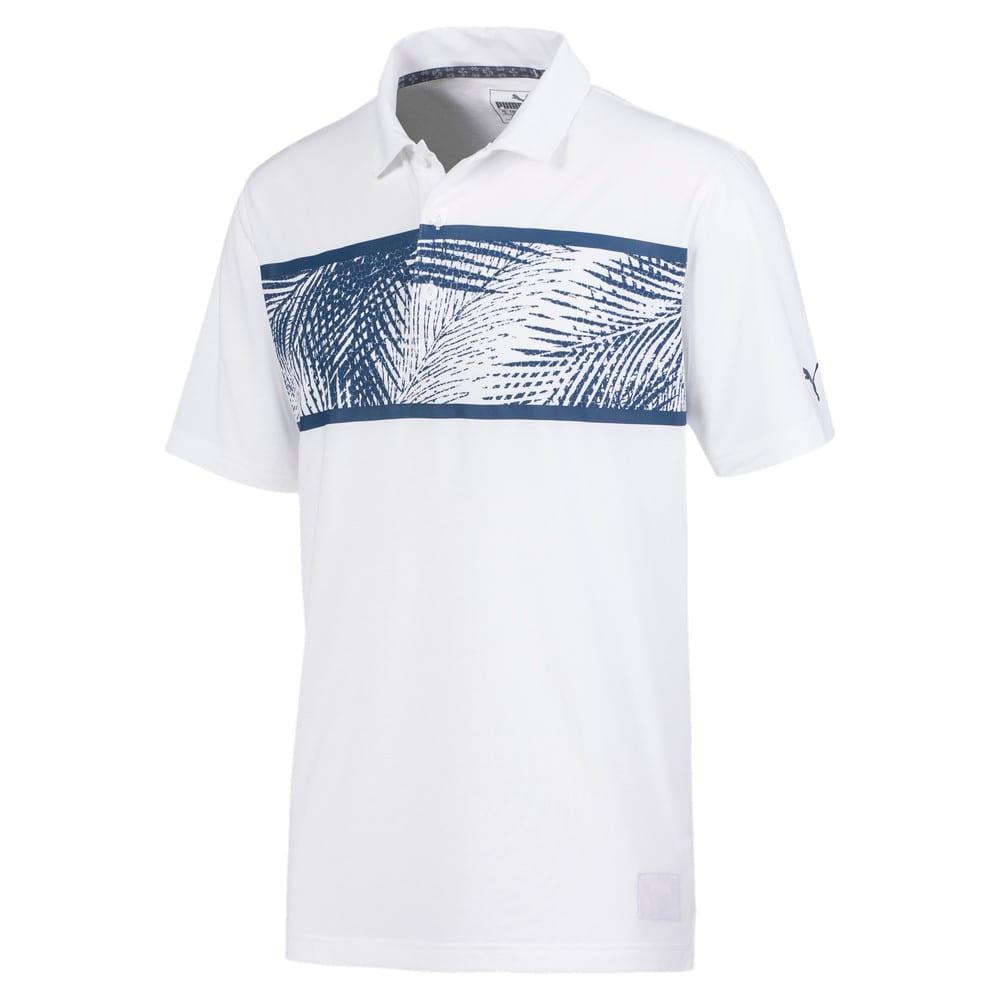 Image Puma Palms Men's Golf Polo Shirt #1