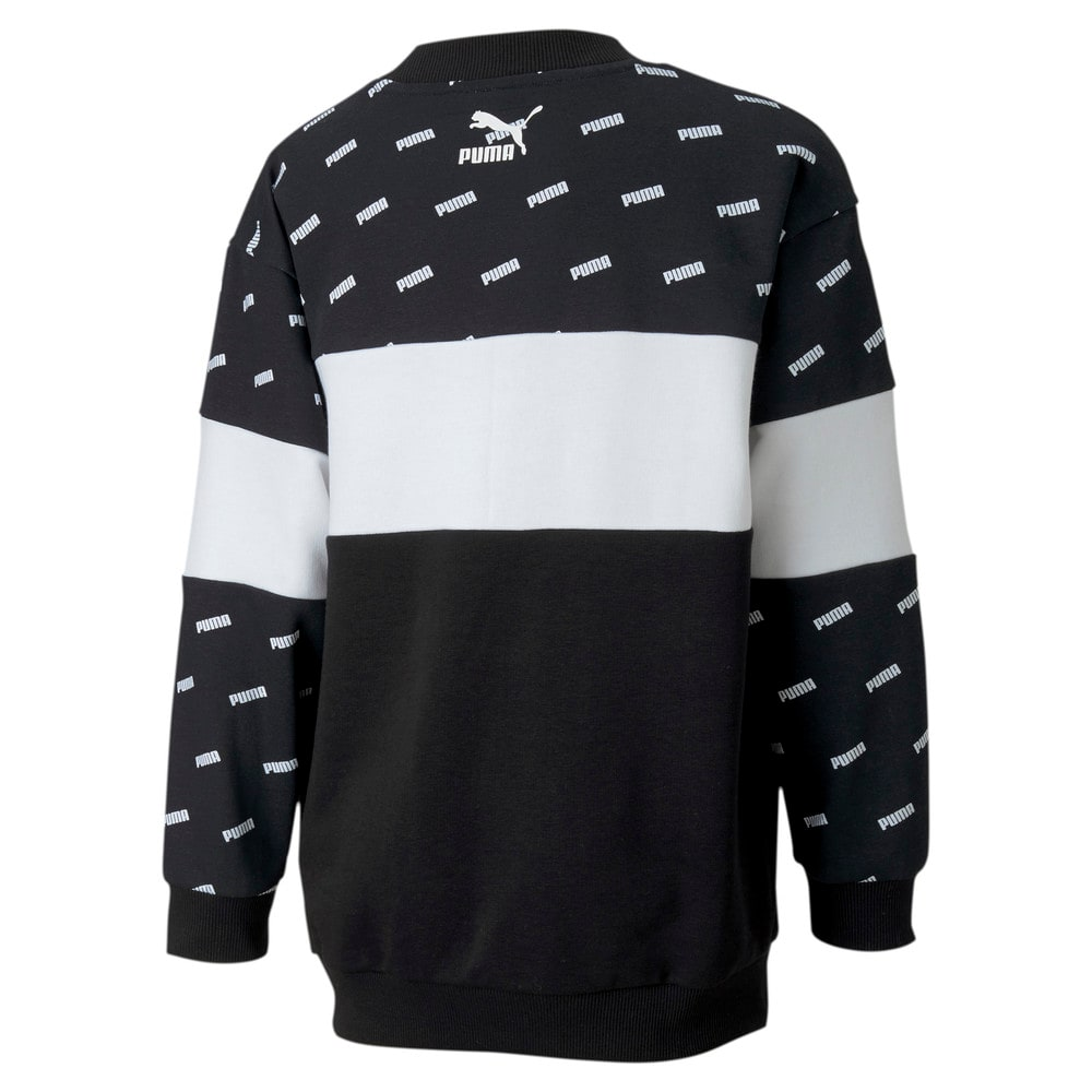 Зображення Puma Светр Classics Graphics Crew Girls' Sweatshirt #2