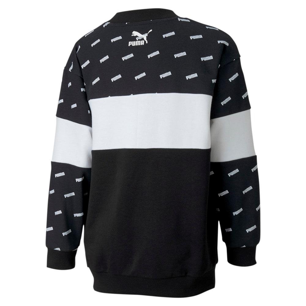 Изображение Puma Свитер Classics Graphics Crew Girls' Sweatshirt #2