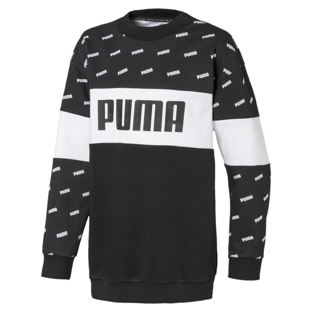 Изображение Puma Свитер Classics Graphics Crew Girls' Sweatshirt #1