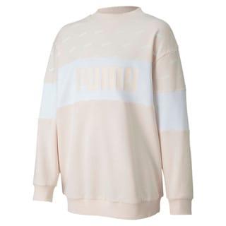Изображение Puma Свитер Classics Graphics Crew Girls' Sweatshirt