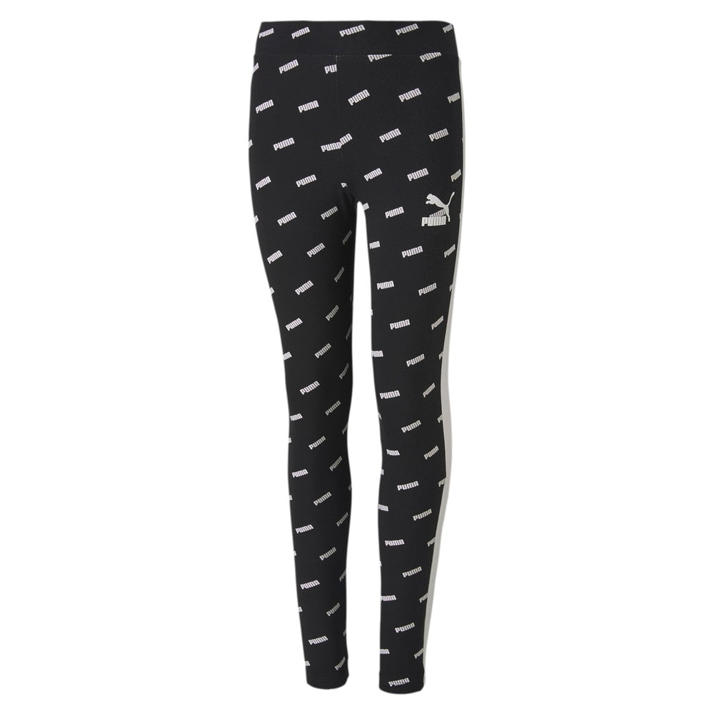 Изображение Puma Леггинсы Classics Graphics Girls' Leggings #1