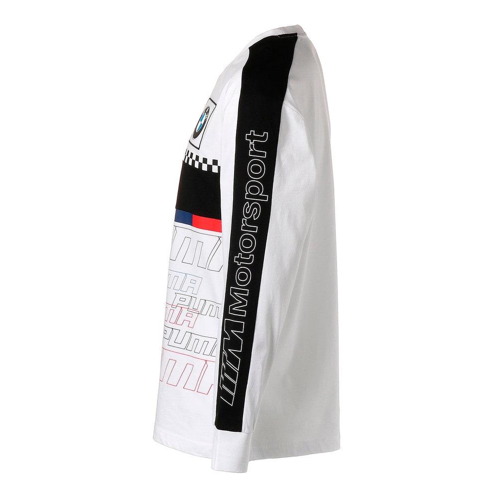 Image Puma BMW M Motorsport Long Sleeve Men's Tee #2