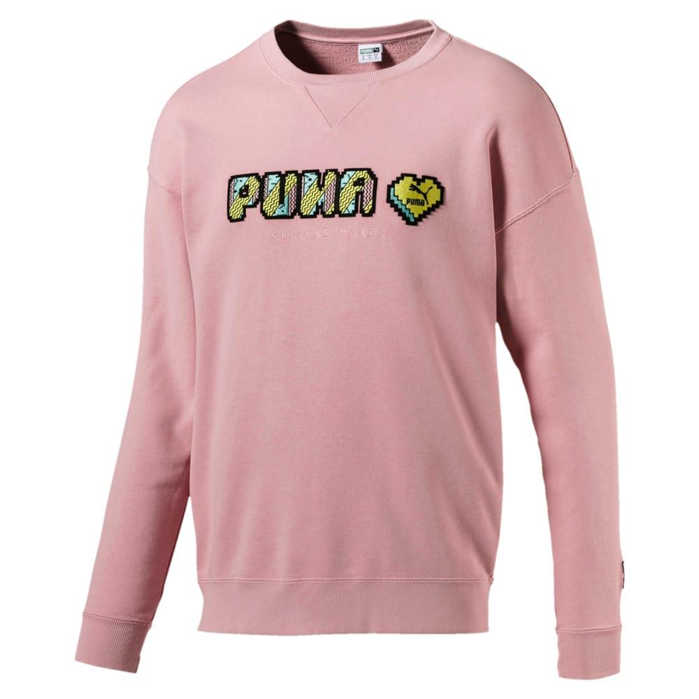 Изображение Puma Толстовка Pop Style Crew Sweat #1