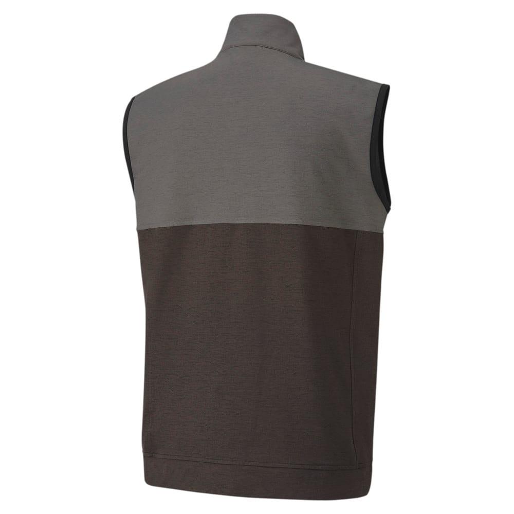 Image Puma Cloudspun Warm Up Men's Golf Vest #2