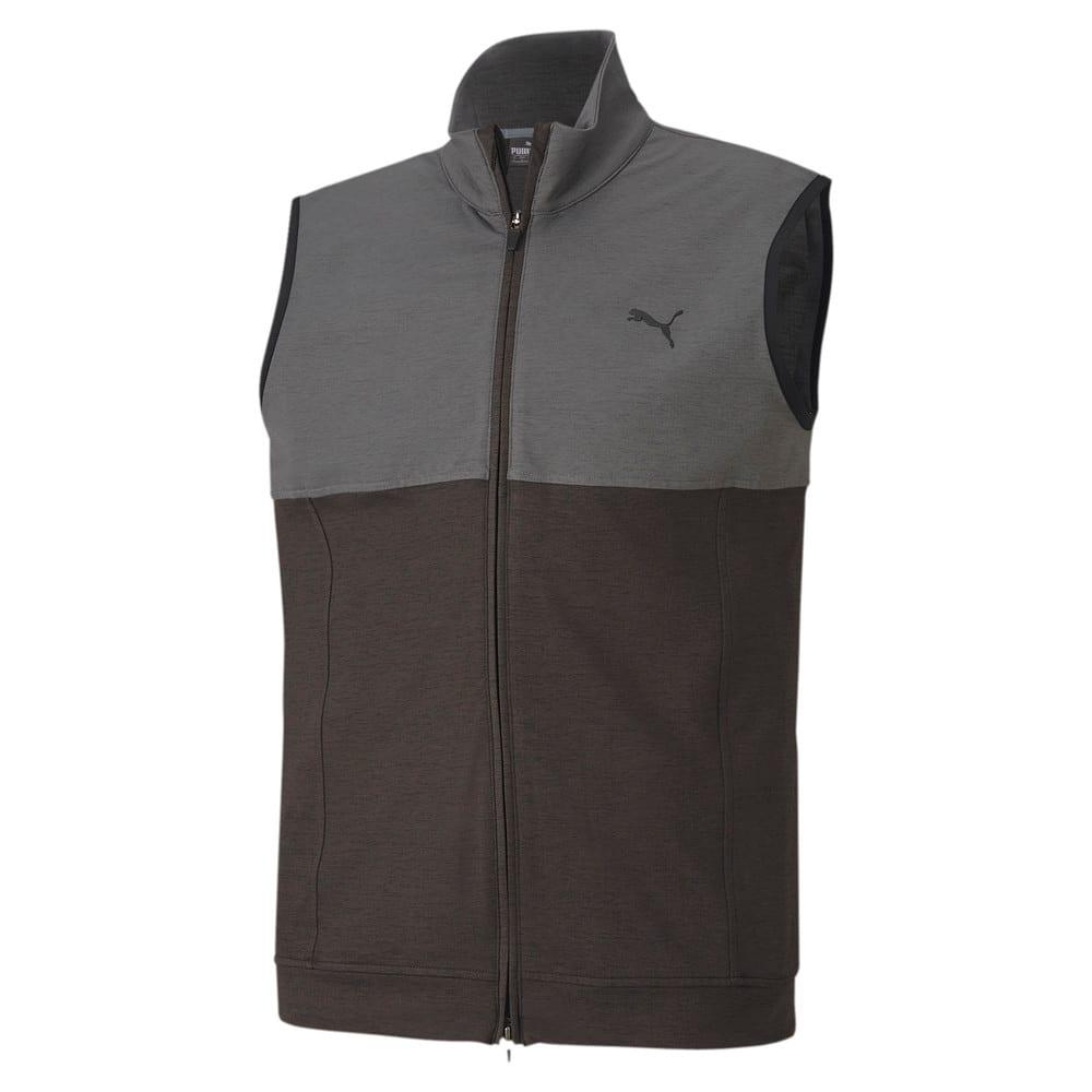 Image Puma Cloudspun Warm Up Men's Golf Vest #1