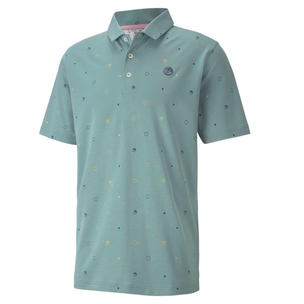 Image Puma Legacy Print Men's Golf Polo Shirt #1