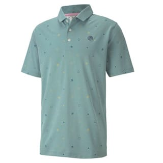 Image Puma Legacy Print Men's Golf Polo Shirt