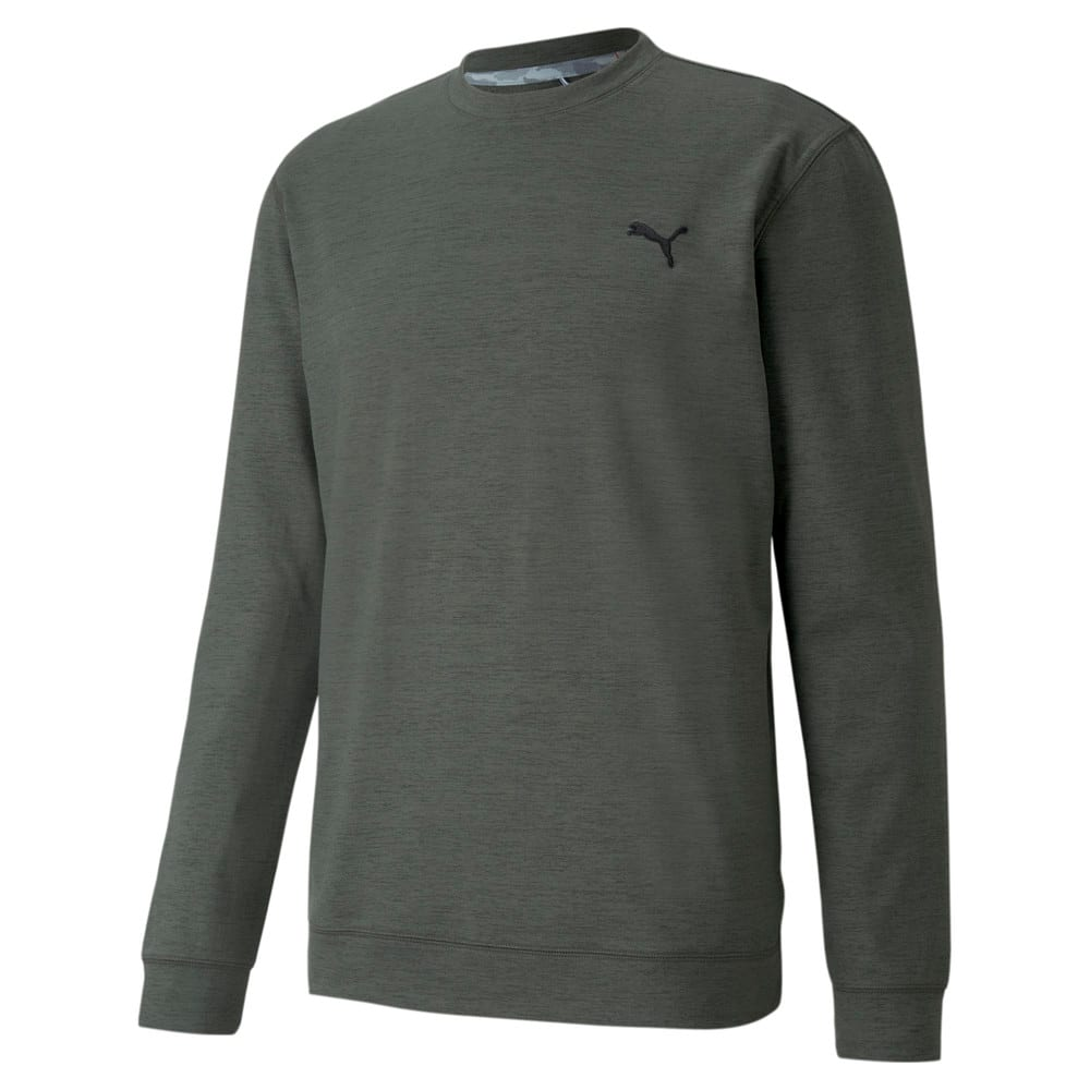 Image Puma CLOUDSPUN Crew Neck Men's Golf Sweater #1