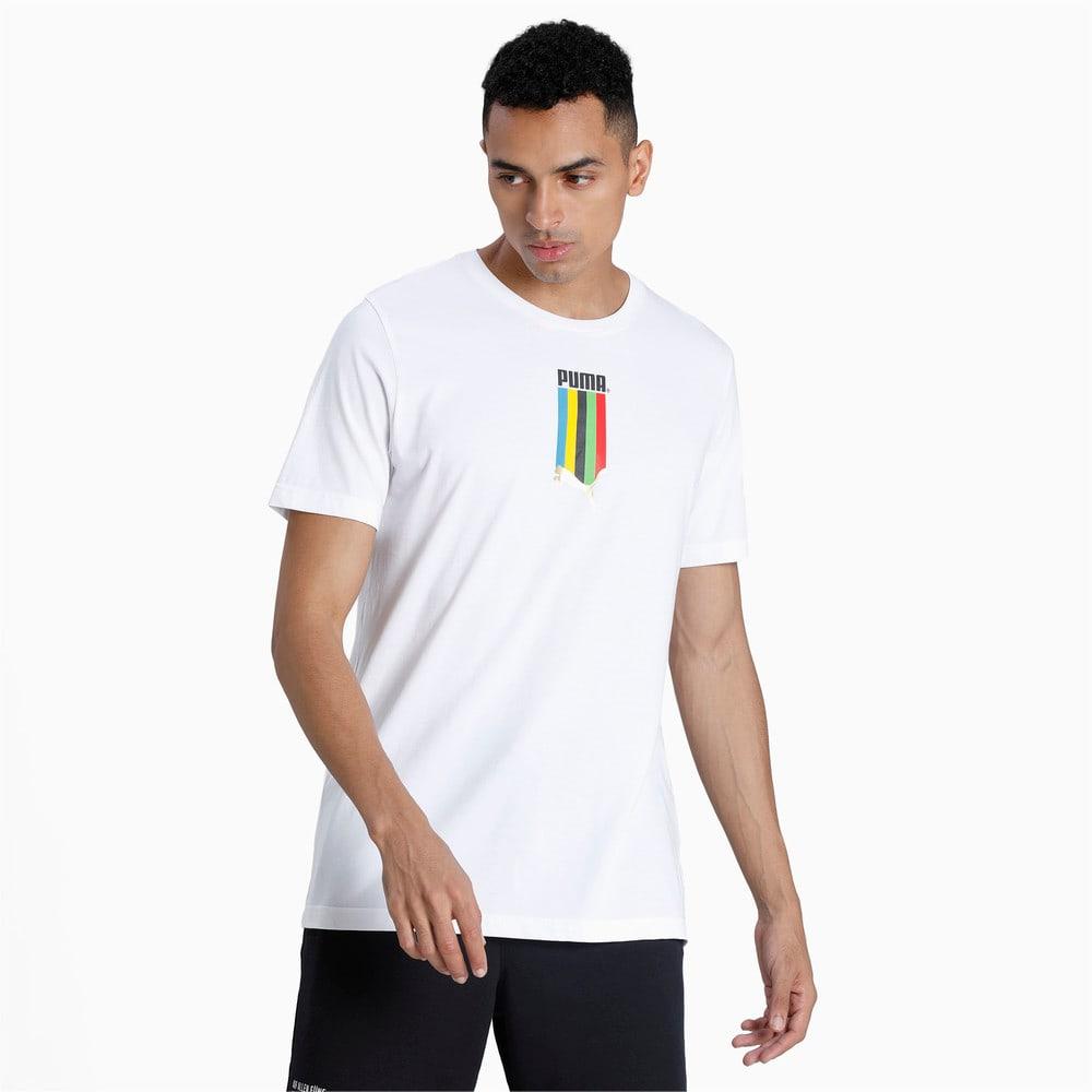 Görüntü Puma TAILORED FOR SPORT GRAPHIC Erkek T-shirt #1