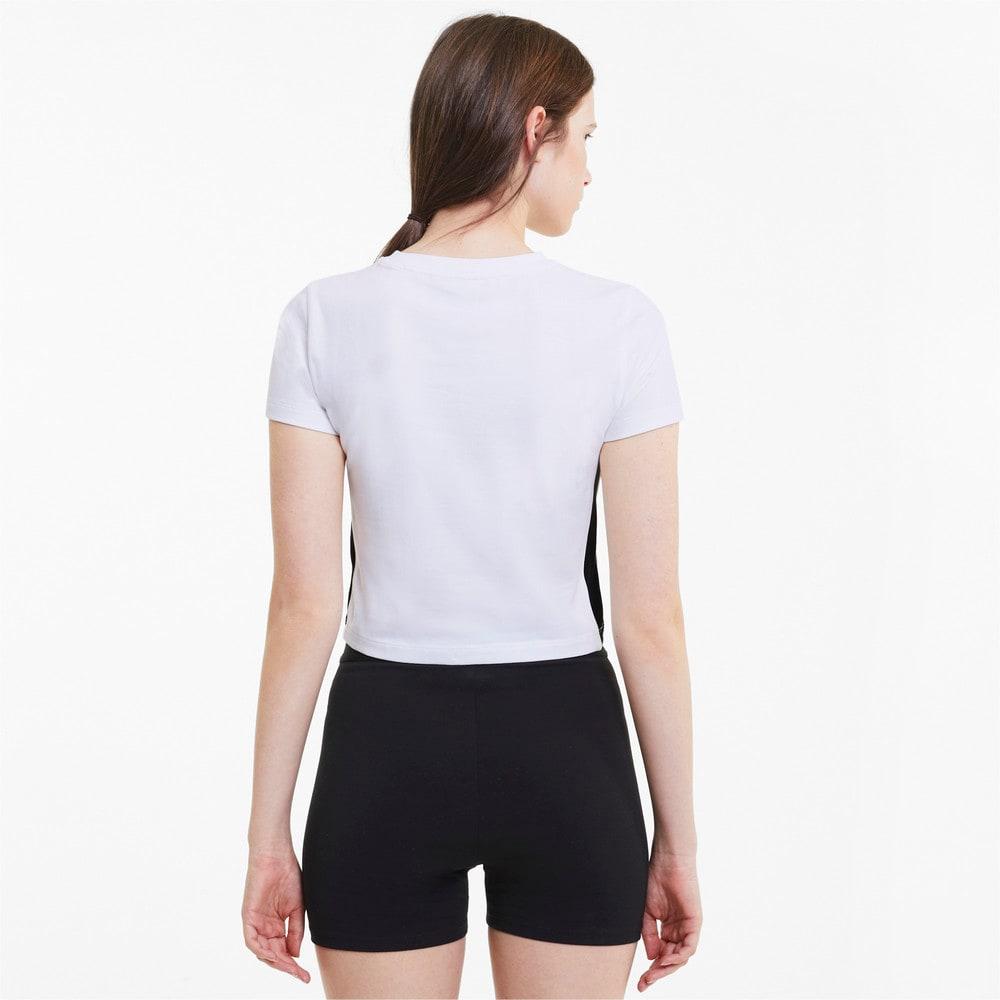 Image Puma Classics Cropped Short Sleeve Women's Tee #2