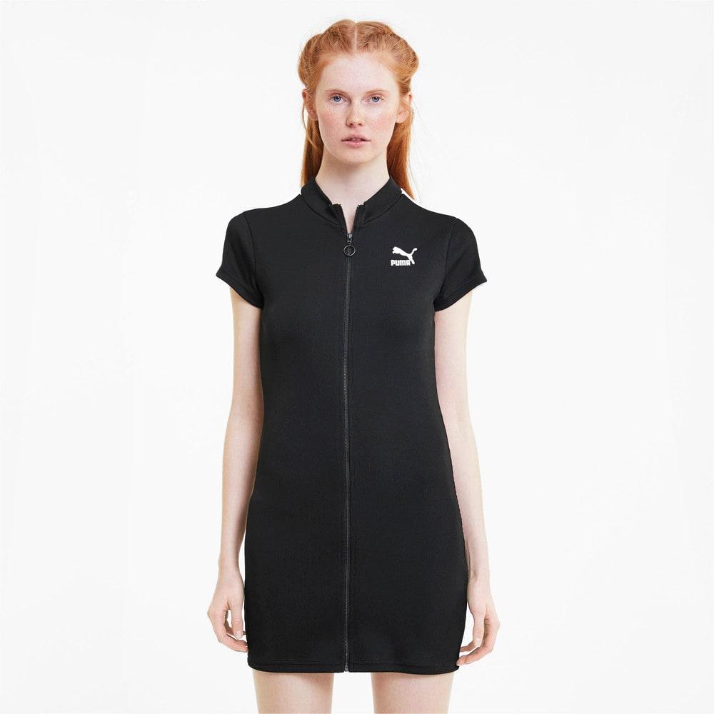 Изображение Puma Платье Classics Ribbed Tight Dress #1
