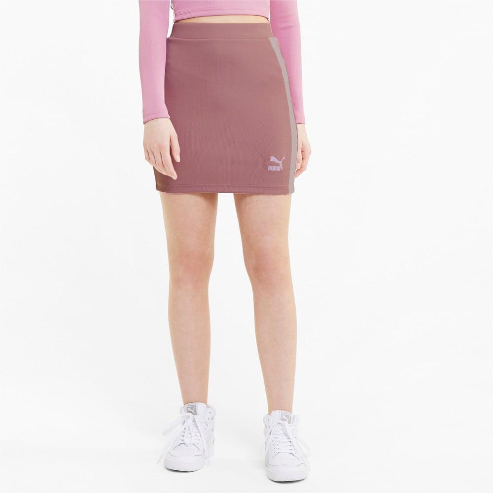 Изображение Puma Юбка Classics Ribbed Skirt #1