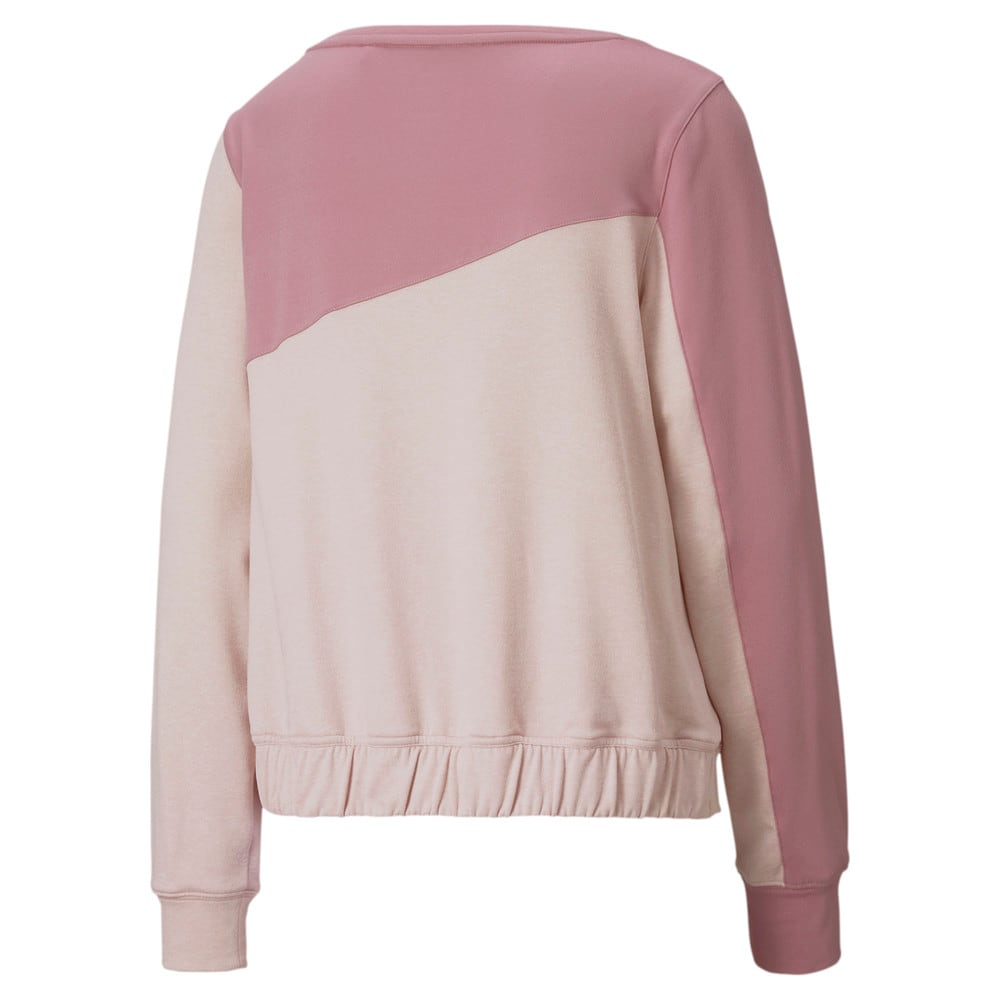 Image Puma CLOUDSPUN Colour Block Crew Neck Women's Golf Sweater #2