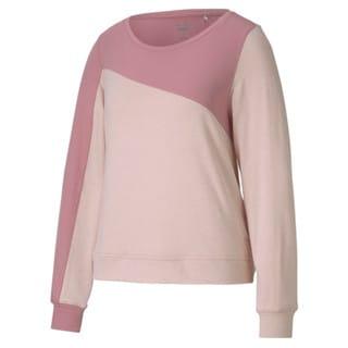 Image Puma CLOUDSPUN Colour Block Crew Neck Women's Golf Sweater