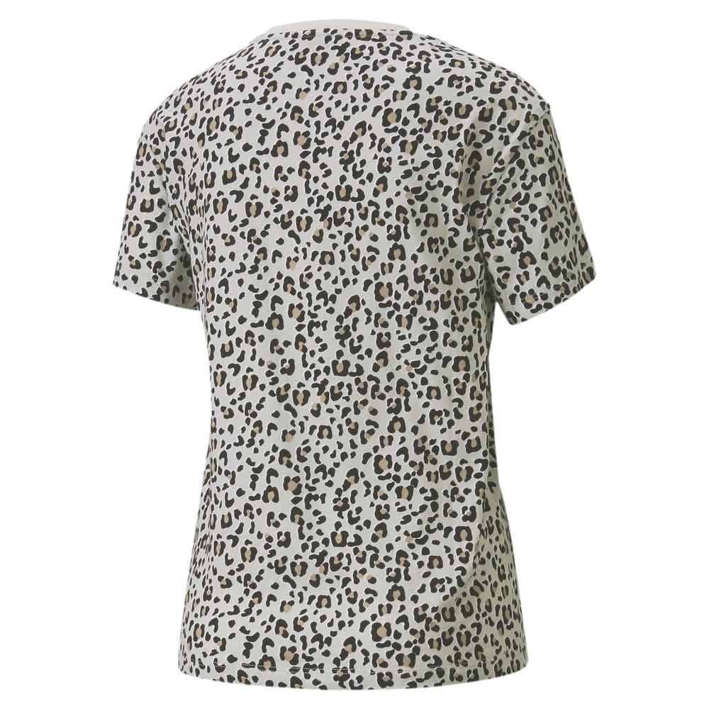 Image PUMA Camiseta Classics AOP Logo Feminina #2